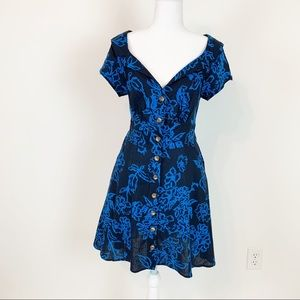 Free people A Thing Called Love mini dress size 6